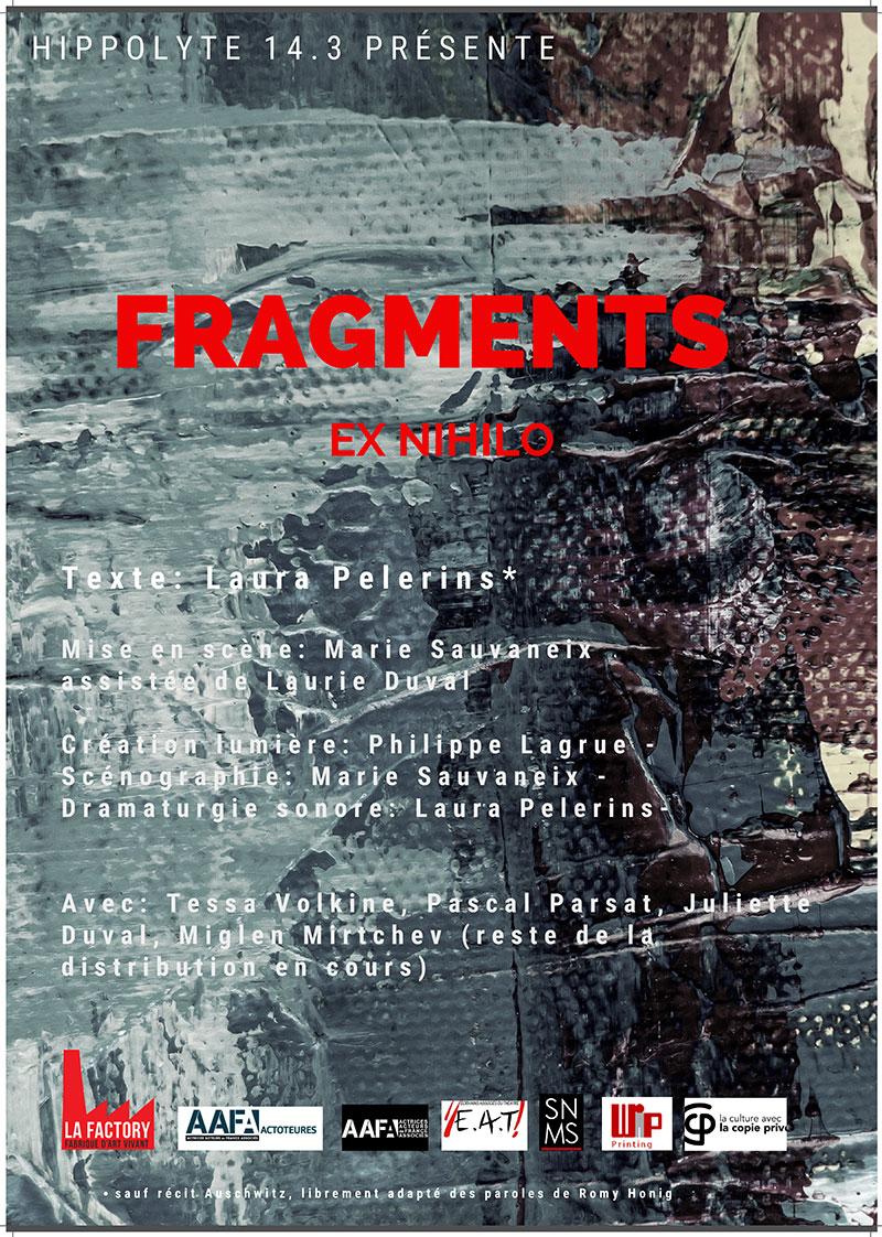 Sortie de résidence : fragments ex Nihlo