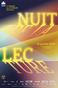 Nuit de la lecture à la Médiathèque Jean d'Ormesson