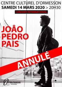 João Pedro Pais : Attention ! Annulé