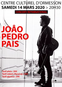 João Pedro Pais : Attention ! Complet !