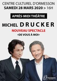 Michel Drucker, seul en scène