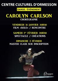 danse et rencontre avec Carolyn Carlson