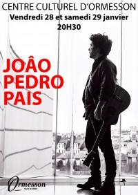 JOÃO PEDRO PAIS en concert